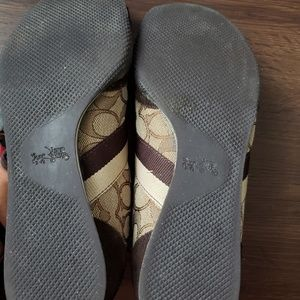 Coach Shoes - Coach Tan/Brown Sneakers